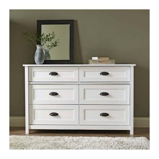 Bedroom Better Homes and Gardens Lafayette Dresser, White Finish dresser
