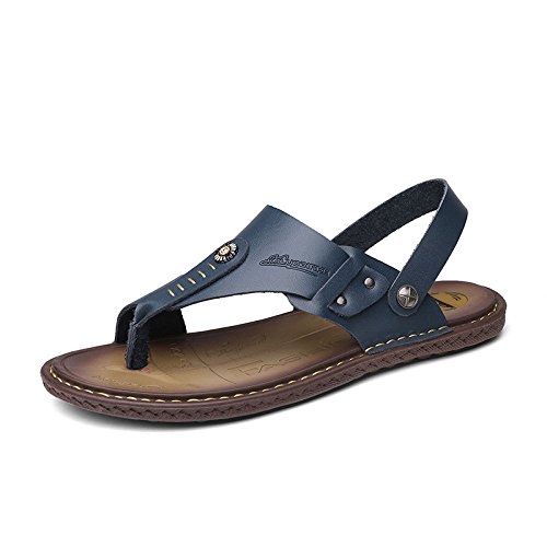 da LEDLFIE Slip con Comfort Pantofole Abbinati Blue Pantofole Sandali Pinne Uomo Uomo da A 5qxSaq