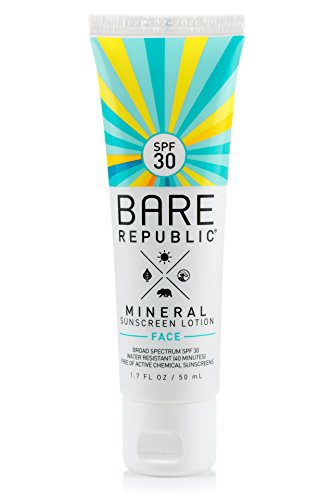 Bare Republic Mineral Face Sunscreen Lotion SPF 30 (1.7 oz)