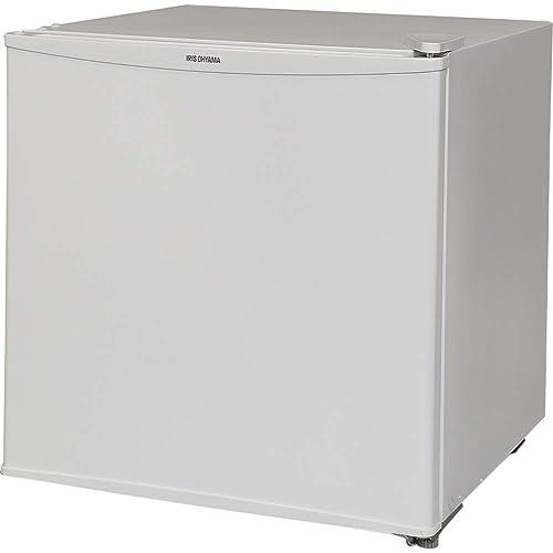 とってもお洒落なミラーガラスを前面に採用した冷蔵庫です。ドアは左右両開き対応で、本体とドアの結合部のネジを取り外すだけで簡単に付け替えることができます。  ドアポケットに2Lペットボトルも収納可能で、 缶やビンのドリンクはもちろん、調味料やちょっとした食品も収容しておけます。手軽におけるコンパクトサイズでこのお洒落さは魅力的ですね。