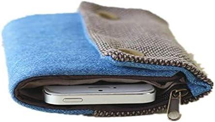 女性ハンドメイド三つ折り財布デニム財布カジュアルマルチポケットカードホルダー YZUEYT