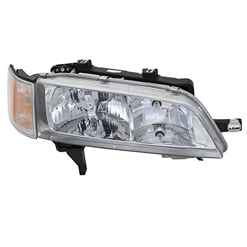 CarPartsDepot Front Bumper Head Light Right Hand Side Fit 94-97 Honda Accord 4DR (97 Honda Accord Right Headlight)