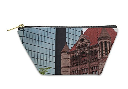 Gear New Accessory Zipper Pouch, Copley Square Boston, Large, - Copley At Shops