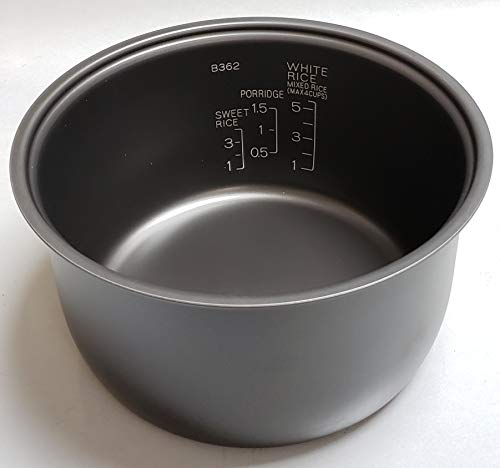 Zojirushi Replacement Nonstick Inner Cooking Pan for Zojirushi NS-TSC10/NL-AAC10 (5.5 Cup Model) Rice Cooker ()