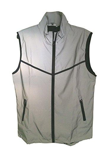 BrightLuz High Visibility Super Reflective Cycling Running Walking Vest