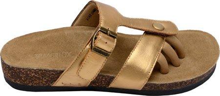 Wellrox Sedona Wellrox Slides Sandal Gold Sedona FcgYWPZW1