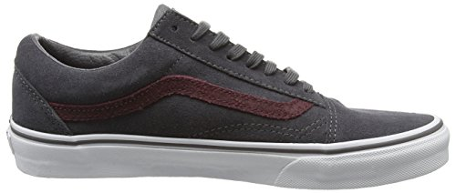 Vans U Old Skool, Baskets Basses Mixte Adulte, Gris (Reptile Gray/Port Royale), 38.5 EU