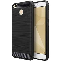 Funda Xiaomi Redmi 4X Negro Silicona