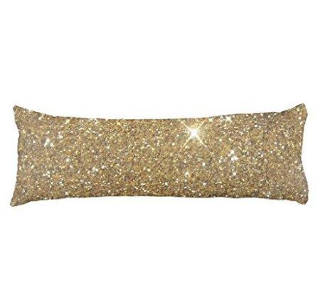 schlitzgnff Luxury Gold Glitter Sparkle Body Pillow Cover 20