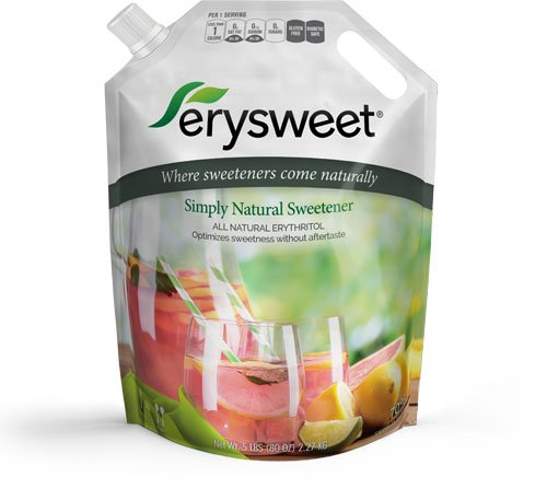 Erysweet Erythritol 5 lb bag NonGMO Low Carb Sweetener by Steviva (Image #3)