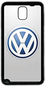 Cool Volkswagen art pattern Samsung Galaxy Note 3 N9000 Case, Soft Material TPU Black Skin Protector Cover DIY by Hahashopping