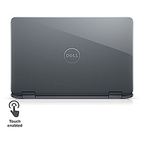 2018 Newest Dell Inspiron Business Flagship 2 in 1 Laptop PC 11.6'' Touchscreen Intel Pentium N3710 Quad-Core Processor 4GB RAM 500GB HDD Wifi HDMI Bluetooth Webcam Windows 10-Gray by Dell (Image #5)