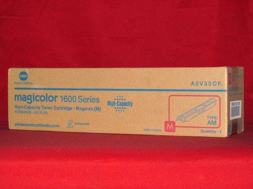 2500 Magenta Toner - Konica Minolta A0V30CF Magenta Toner Cartridge - 2,500 Yield by Konica-Minolta