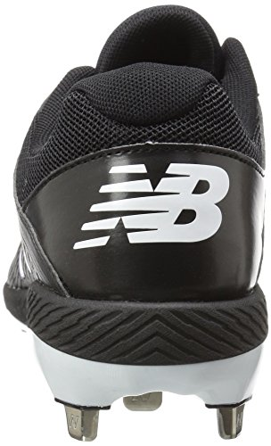 New Balance Dames Fusev1 Metalen Fast Pitch Softbalschoen Zwart / Wit