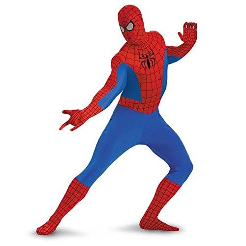 Spider-Man Deluxe Bodysuit Tween Costume - Large