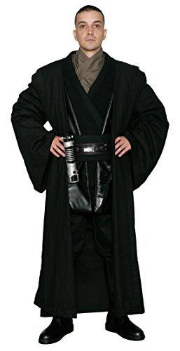 Jedi-Robe Men's Star Wars Anakin Skywalker Tunic Set And Robe X-Large Black by Jedi-Robe