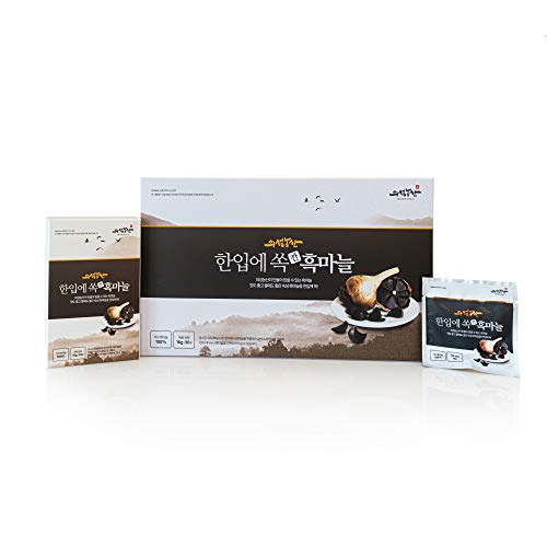New Korean Black Garlic in a bite Unique Health and Personal Care Product Peeled Garlic for All Kind of People