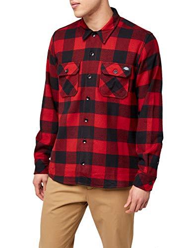 Dickies Sacramento - Camisa para hombre, Rojo, XXXLg: Amazon.es: Ropa y accesorios