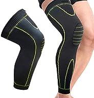 High Tech 3D Knitting Full Leg Protection Knee Support Highly Elastic