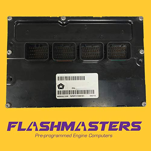 Flashmasters 2003 Compatible for Dodge Dakota 4.7L Computer 56040498 ECU ECM PCM Programmed to Your VIN