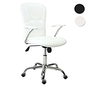 Adec silla maggie medidas 58 x 55 x 106 cm color blanco hogar - Sillas despacho amazon ...