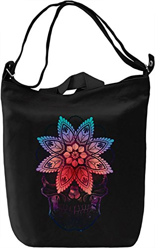 Sugar Skull Borsa Giornaliera Canvas Canvas Day Bag| 100% Premium Cotton Canvas| DTG Printing|