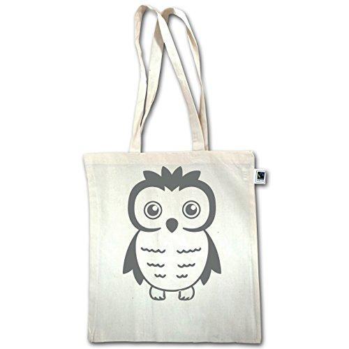 Gufi, Volpi E Co. - Gufo - Unisize - Natural - Xt600 - Manici Lunghi In Juta Bag