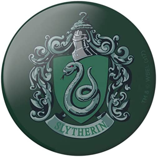 PopSockets: PopGrip with Swappable Top for Phones & Tablets - Harry Potter - Slytherin Gloss |