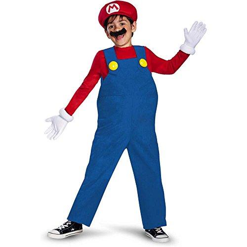 Super Mario Deluxe Kids Costume - 7-8