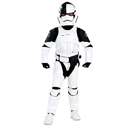 Star Wars First Order Judicial Stormtrooper Costume For Kids The Last Jedi (11/12)