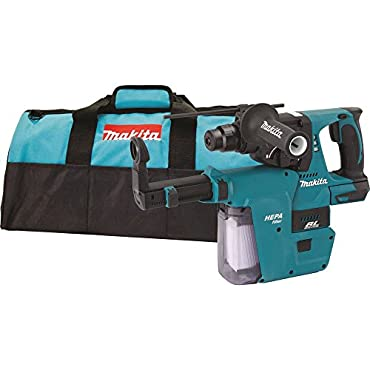 Makita XRH01ZVX 18V LXT Li-Ion Brushless Cordless 1 Rotary Hammer with Vac