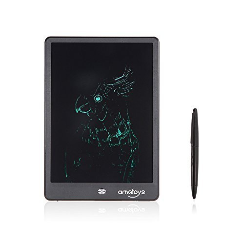 Ametoys 10 inch LCD Writing Tablet Drawing Writing Board Office Note-taking Gift for Kids by Ametoys