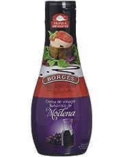 Borges - Crema A Base De Vinagre Balsámico De Módena-Clásica. Botella 250 g - [Pack de 8]