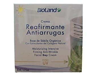 Amazon.com : Organic Anti Wrinkle Facial Day Cream 1.7 fl.oz. | Crema Orgánica Reparadora contra Arrugas Día 50 ml. : Beauty