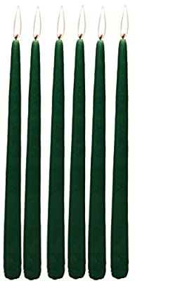 Elegant Taper Candles 12 Inches Tall Premium Quality Candles Set of 12