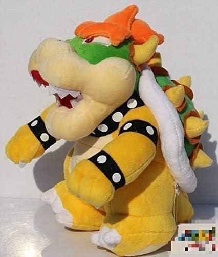 WOHAO Juguetes Animal de Peluche Juguetes de Peluche de 25 cm Super Mario Bros Bowser drag/ón de Peluche de Juguete Relleno Suave mu/ñeca Regalo for los ni/ños