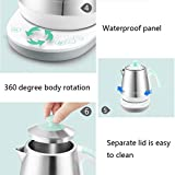 Baby Bottle Warmer, 1L Stainless Steel Electric