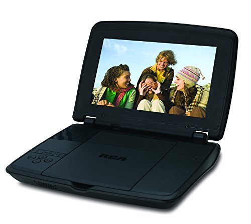 RCA DRC96090 9-Inch Portable DVD Player with Rechargeable ba