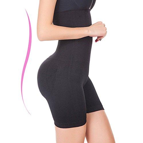 6663d0ec2b Larry Marry Women High Waist Cincher Girdle Belly Slimmer Trainer Black Shapewear  Butt Lifter - Buy Online in Oman.
