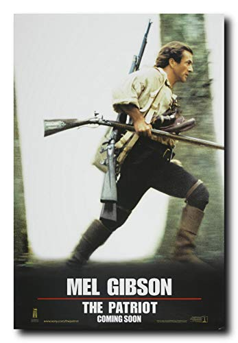Mile High Media The Patriot Movie Poster 24x36 Inch Wall Art Portrait Print - Mel Gibson