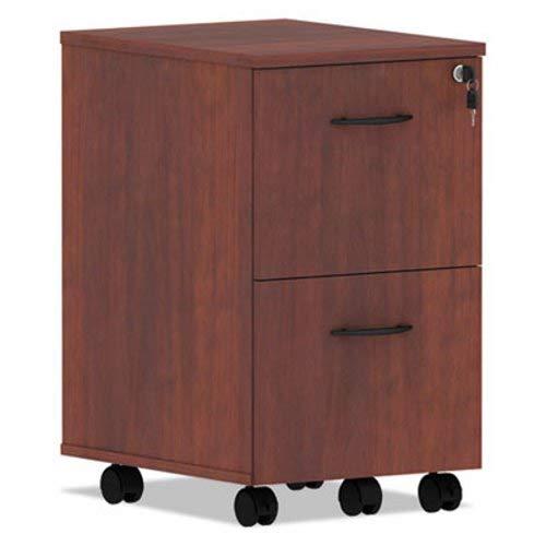 - Alera VA582816MC Valencia Series Mobile File/File Pedestal, 15.38 x 20 x 26.63, Med Cherry