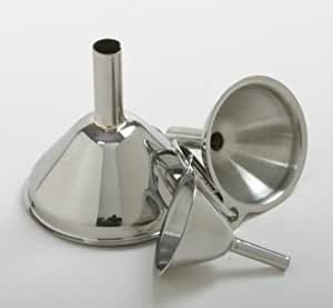 New 18/10 Stainless Steel Funnel 3 pc Set