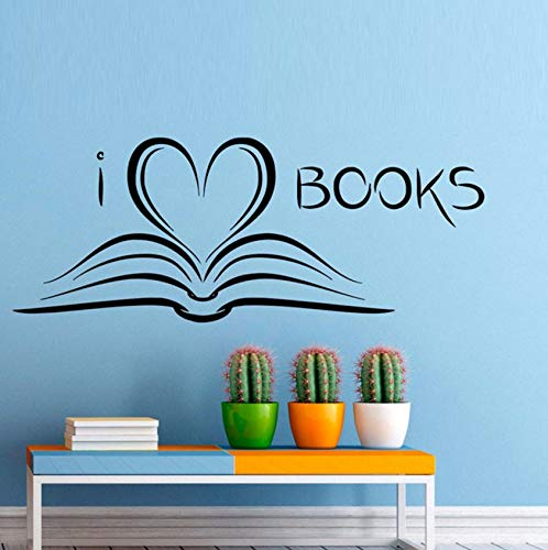 - Pbldb 58X22Cm Books Reading Room Library Decoration Wall Stickers Home Decor Living Room Bedroom Wall Decals Art Murals