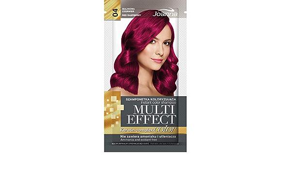 Joanna Tinte multiefecto para el cabello 04 rojo frambuesa 35 g