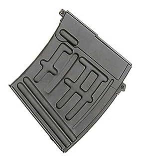 AK IU-SVD CLIP Full Metal Airsoft Magazine 60 rondas Se adapta a IU-SVD AK