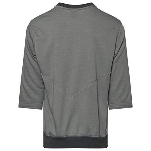 Nike Team 3/4 Flux Crew Men's T-Shirts Aa9780-063 1