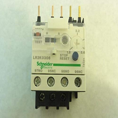 1.8 A 2.6 A TeSys K IEC LR2K0308/ -/ Electronic Overload Controller