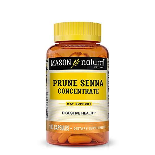 (Mason Natural Prune Senna Concentrate Capsules, 100 Count)