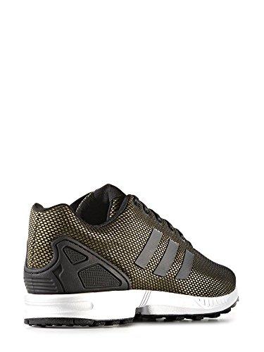 Adidas Zx Flux Homme Baskets Mode Metallic ,noir ,24