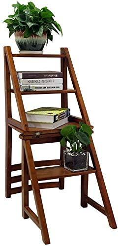 GOG Taburete para adultos, taburete escalonado de 4 niveles Escaleras plegables para el hogar Taburete de interior Estante de flores/escalera Taburete Hogar Baño Muebles de oficina Trabajo pesado M: Amazon.es: Bricolaje y